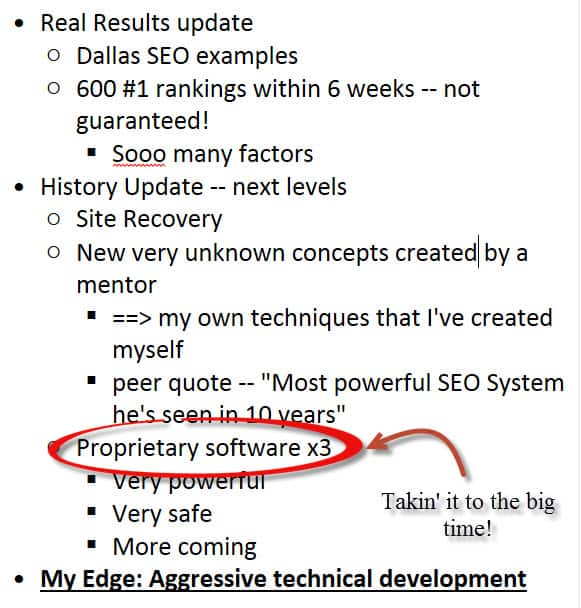 About Dallas SEO Geek Update InfoGraphic