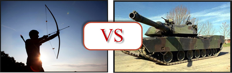 Archer vs Tank SEO analogy