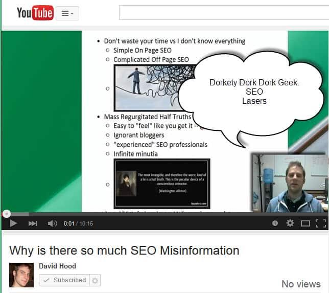 SEO Misinformation