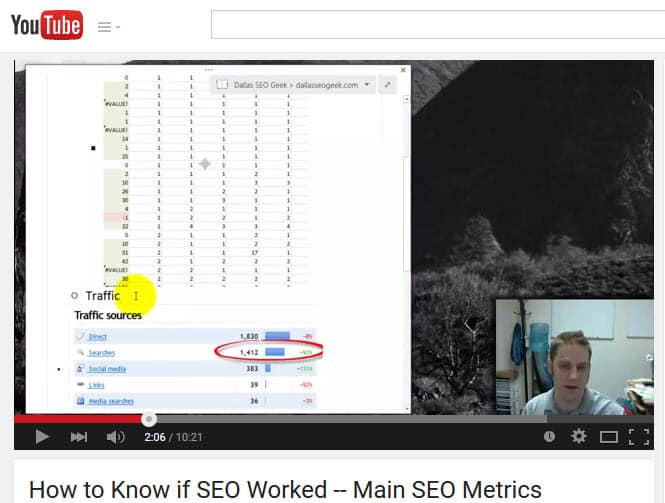 Tracking Search Engine Optimization