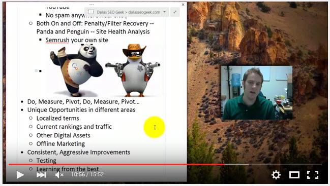 Panda and Penguin Google Penalties