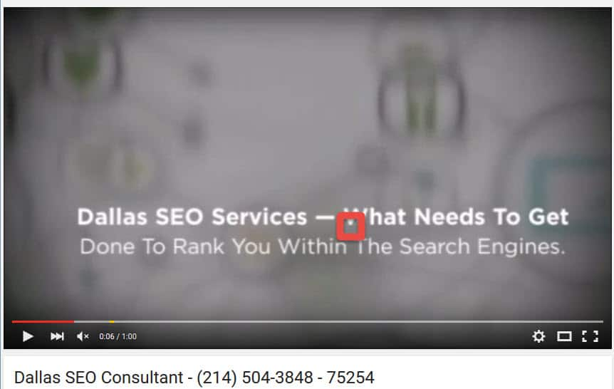 Dallas SEO Consultant -- 214-504-3848 -- 75254