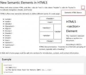 Semantic HTML for SEO