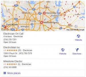 Google Maps Local Search Engine Optimization