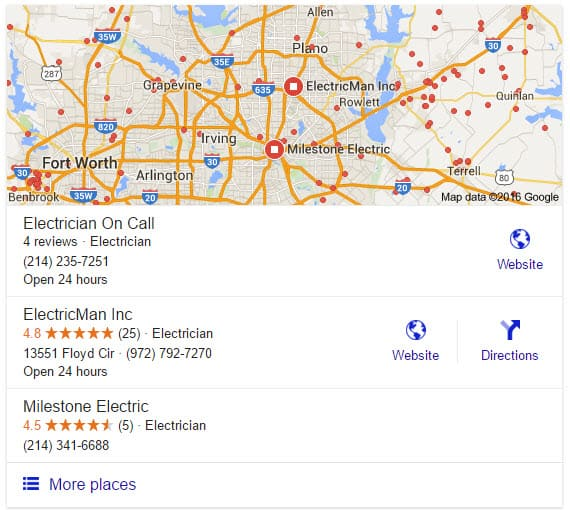 Google Maps Local Search Engine Optimization