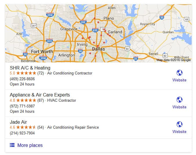 Local Google Maps SEO