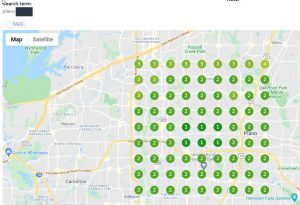 Plano Googel Map Ranking Checker Geogrid