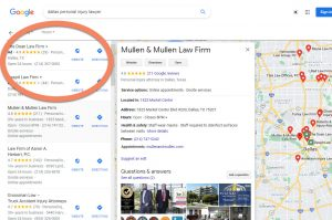 local seo for lawyers more ads