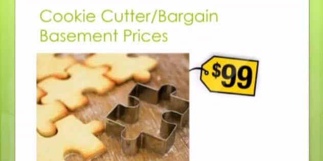 SEO Consulting Cookie Cutter and Bargain Basement Services
